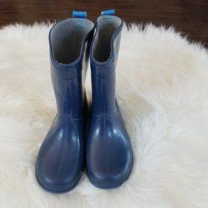 Rainboots   Kids Blue Rubber Boots Puddles